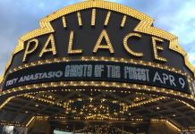ghosts of the forest palace theatre albany marquee april 9 2019