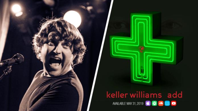 keller williams the big one new track add new lp