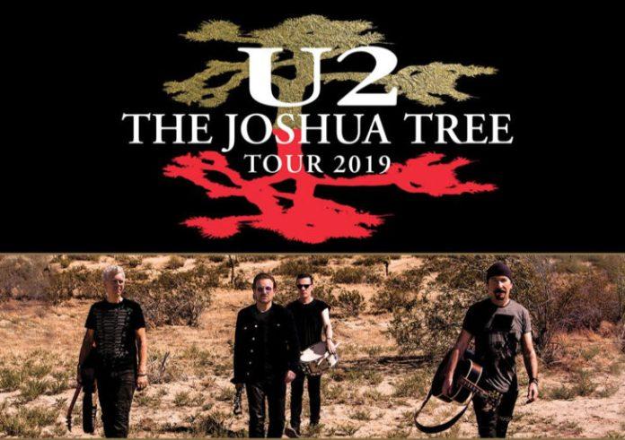 u2 joshua tree 2019 tour dates australia new zealand tokyo singapore seoul live music blog