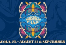widespread panic announces 2019 pensacola labor day run