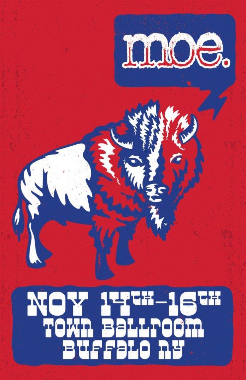 moe buffalo 2019 run town ballroom november 14-16