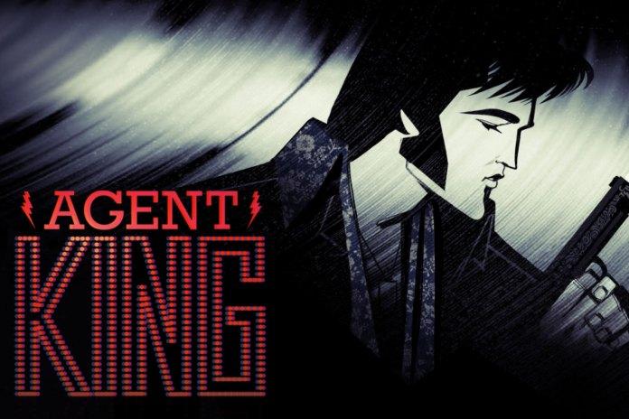 netflix agent king spy elvis poster