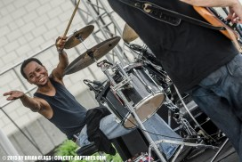 Cincinnati's own reggae-jam-rockers Elementree Livity Project kicked off the festivities at the inaugural David Shaw's Big River Getdown held in Hamilton, Ohio.