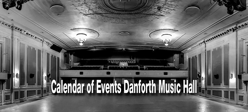 Calendar of Events Danforth Music Hall