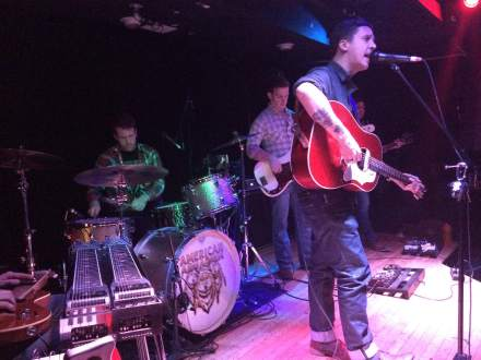 BJ Barham and American Aquarium at Zanzabar
