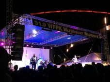 Katie Toupin (Houndmouth) joins Shakey Graves at WFPK's April 15 Waterfront Wednesday