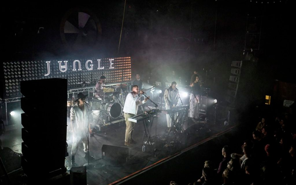 Liverpool Music Week – Jungle + Stealing Sheep + Makeness