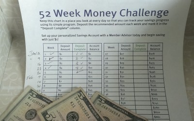 """52 Week Challenge Checkup"""