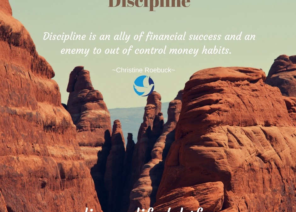 """Financial Discipline Takes You From Good, To Great"""