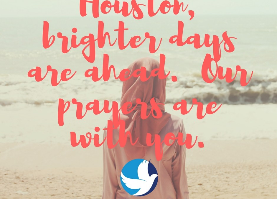 """Hurricane Harvey Victims, Our Prayers Are with You"""