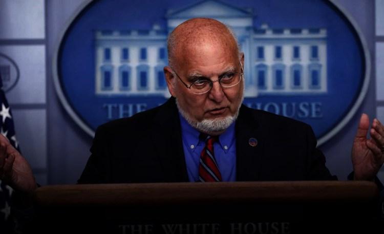 Dr. Robert Redfield, CDC Director, quarantine himself for ...