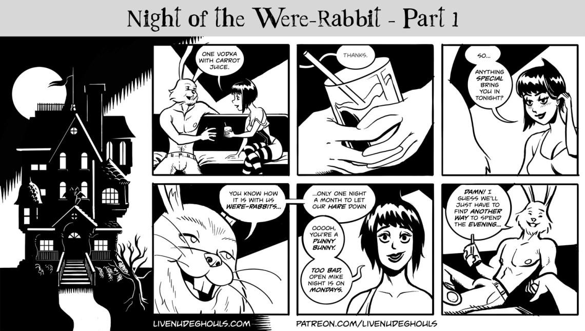 Zoranna meets a dashing fellow who happens to be half rabbit...