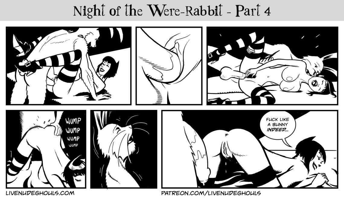 Zoranna and the Bunnyman have 6 panels of sex.