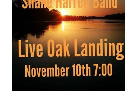 Shane Harrell Band – Live @ Live Oak, this Saturday November 10th.