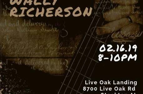 Wally Richerson Live February 16th, 2019