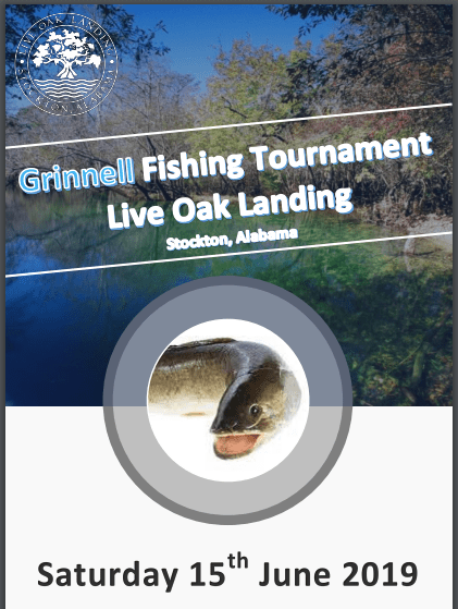 2019 Live Oak Landing Fathers Day Grinnell Fishing Tournament - Saturday July 15th