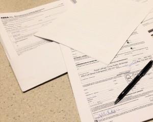 Collingwood Real Estate Paperwork