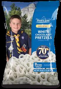 White Chocolatey Pretzels