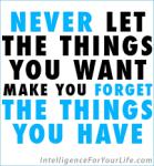 Develop Gratitude
