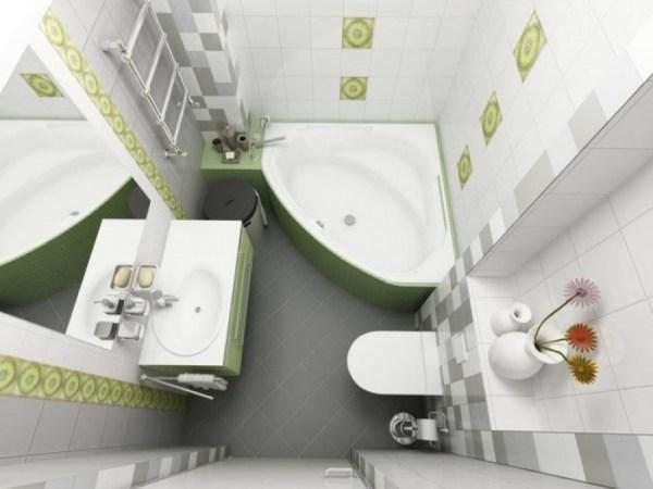 Дизайн маленьких ванных комнат: как обустроить интерьер ...