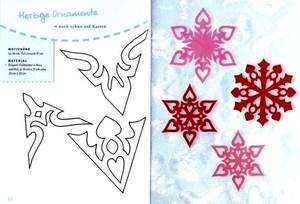 Como desenhar flocos de neve com crianças