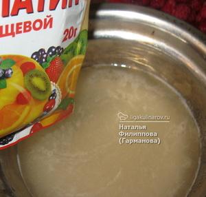 Cách sử dụng gelatin