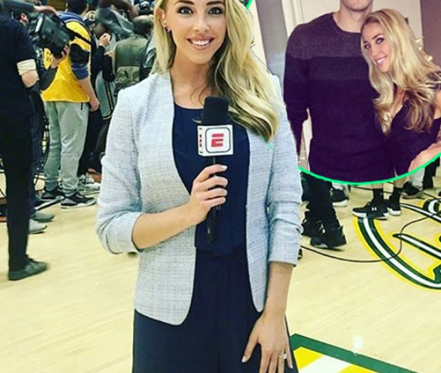 Espn Reporter Olivia Harlan Bio At Age  Turning Boyfriend Into Husband