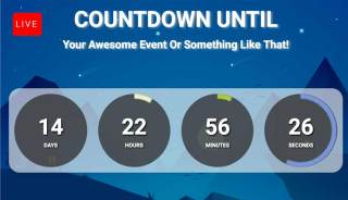 Image result for live stream countdown timer