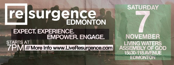 Resurgence Edmonton Nov 7 2015