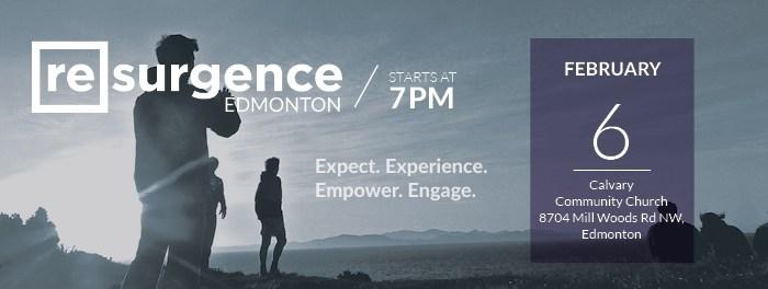 Feb 6 2016 Resurgence Edmonton