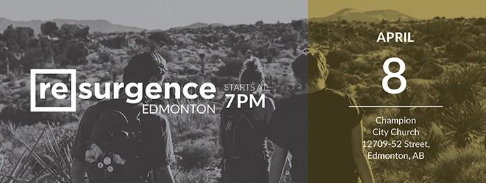 Resurgence Edmonton April 2017