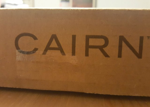 It's here! January's Cairn Box.