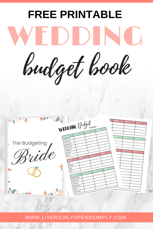 It's just a picture of Printable Wedding Budget in template