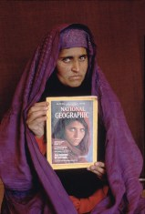 """NATIONAL GEOGRAPHIC VIDEO/DVD: """"SEARCH FOR THE AFGHAN GIRL"""" © Steve McCurry"""