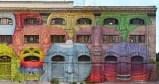 Blu: un murale in via del Porto Fluviale sulle pareti dell'Ex Caserma dell'Aeronautica