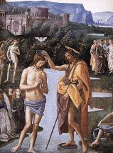 Pietro Perugino e aiuti, Battesimo di Cristo
