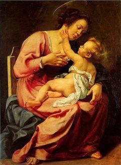 Madonna col Bambino, Galleria Spada, Roma, 1610-11