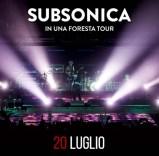 Subsonica: In una foresta tour 2015 il 20 luglio 2015 a Roma all'Ippodromo delle Capanelle per Rock in Roma 2015