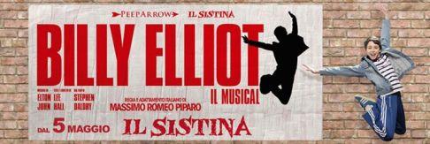 Billy Elliot il Musical, con musiche di Elton John, torna dal 1° al 18 ottobre 2015 a Roma al Sistina