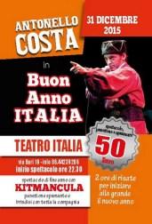 Antonello Costa in Buon Anno Italia - Teatro Italia