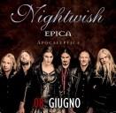 Nightwish + Epica + Apocalyptica + opening act al Rock in Roma 2016 mercoledi 8 Giugno all'Ippodromo delle Capannelle