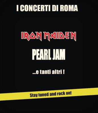 Pearl Jam al Rock in Roma 2016