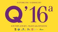 16a Quadriennale d'Arte: altri tempi, altri miti a Roma al Palazzo delle Esposizioni dal 13 ottobre 2016 all'8 gennaio 2017
