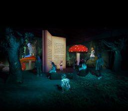 Le Avventure di Alice: arriva a Roma la mostra multimediale di Alice nel Paese delle Meraviglie, al Guido Reni District (a pochi passi dal Museo MAXXI) dall'8 dicembre 2016.
