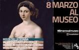 L'8 marzo, per la giornata internazionale della donna, tutti i musei, le aree archeologiche e i monumenti statali saranno aperti gratuitamente alle donne