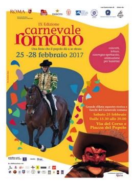 Carnevale Romano: dal 25 al 28 febbraio 2017 la nona edizione, ecco il programma completo con sfilata rinascimentale, rievocazioni storcihe, festa dei moccoletti e spettacolo pirotecnico
