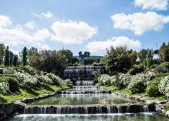 Eur, riapre il Giardino delle Cascate