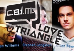 NEWS: Esco Williams, Stephen Langstaff and Anton Powers join forces for The CALM Love Triangle