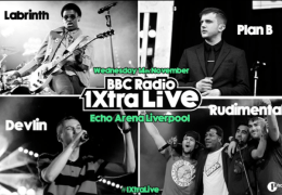 REVIEW: 1Xtra Live with Plan B, Labrinth, Rudimental, Devlin, Echo Arena 14/11/12