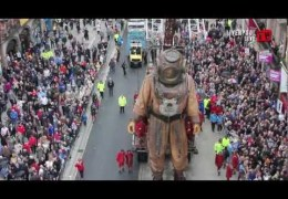 Liverpool Live TV at Sea Odyssey Day One – Giant Uncle